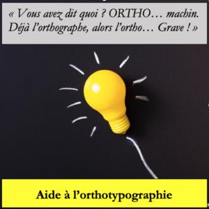 Orthotypographie image